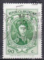 Argentina, 1970/73 - 90c San Martin - Nr.937 Usato° - Argentina