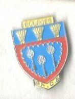 Badminton Club BACB Bourges Blason Avec Volants - Badminton