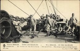 CPA Korsika Haute Corse, Französische Soldaten, Balkankrieg 1914/15 - Autres Communes