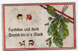 """DC1147 - Motiv """"Furchtlos Und Stark Deutsch Bis Ins Mark"""" Militaria Propaganda - Patriotic"""