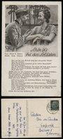 WW II Lieder Postkarte Militär: Heer,Schön Ist Es Bei Den Soldaten,gebraucht Leer Ostfriesland - Greifswald 1941, Beda - Duitsland