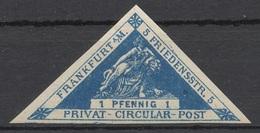 Privat-Stadt-Post Frankfurt (Main) B 29B * - Private