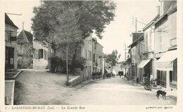 La Bastide-Murat (Lot) - La Grande Rue - Non Circulée - Dos Divisé. - Frankrijk