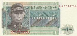 Birmanie 1 Kyat  Billet  Neuf - Indonesia