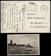 WW II Postkarte , AK Düsseldorf:gebraucht Mit Werbestempel Rotes Kreuz Düsseldorf - Elberfeld 1939, Bedarfserhaltung. - Duitsland