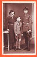 Mi345 Carte-Photo (2) Caporal 441ème Régiment Infanterie R.D.P ? De Pionniers ? 1940s Avec Femme Et Fils CpaWW2 - Regimenten