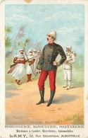 Algérie - Colonel Flatters - Publicité Horlogerie - Bijouterie - Orfévrerie - Machine à Coudre Etc.....Alberville - Hombres