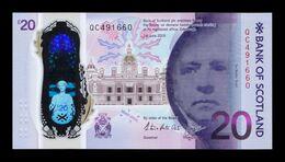 Escocia Scotland 20 Pounds Queensferry-Crossing 2020 Pick New Polymer SC UNC - 20 Pounds