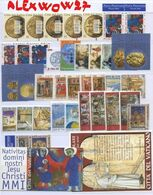 Vaticano / Vatican City 2001 -- Years Complete -- ** MNH /VF - Full Years