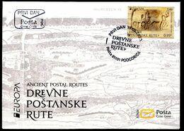 Europa 2020 - Montenegro Crna Gora - Les Anciennes Routes Postales FDC - Europa-CEPT