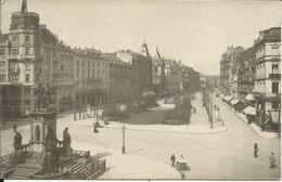 FRANKFURT A. M. , Goetheplatz , 1907 , CPA ANIMEE - Frankfurt A. Main