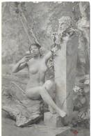 Femme Et Satyre (nu Féminin) (éd. Trèfle) (genre Bergeret) - Frauen