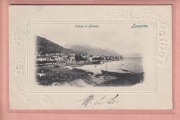 OUDE POSTKAART - ZWITSERLAND - TICINO -    MURALTO - LOCARNO 1900'S - TI Tessin