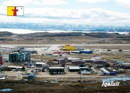 Canada Nunavut Iqaluit Airport Aerial View New Postcard - Aerodromes