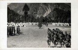 Accampamento E Manovre Militari-Gli Alpini E Le Diverse Forze Militari-9x14- - Familias Reales