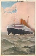 Norddeutscher LLoyd Bremen - Dampfer PRINCESS ALICE - Piroscafi