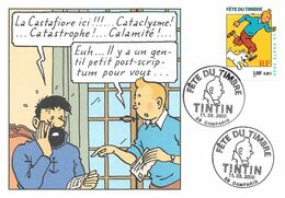 Tintin Fête Du Timbre 2000 - Comics