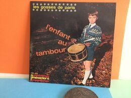 L'Enfant Au Tambour(Président) - Les Gosses De Paris - Disque Vinyles 45T) Titres Voir Photos-  (Muller Dom-Cat) - - Collector's Editions