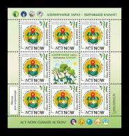 Belarus 2020 Mih. 1382 UN Campaign Against Climate Change Act Now (M/S) MNH ** - Bielorrusia
