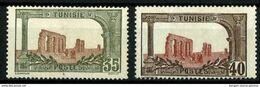 Túnez (Francés) Nº 37-38 Cat. 18,70€ - Tunisia (1888-1955)