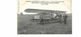 MEETING D AVIATION  DE L AIGLE 8 9 1912BIPLAN CAUDRON  FRERES BOSANO - ....-1914: Precursors