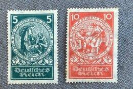 Allemagne Timbre Y&T N°344/5 ** - Nuevos