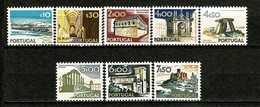 Portugal, 1972/81, # 1127/8, 1132, 1136/40, MH - Nuevos