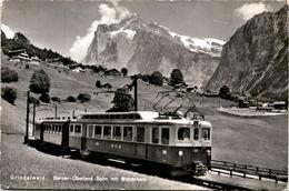 Grindelwald - Berner-Oberland-Bahn Mit Wetterhorn (9495) * 4. 8. 1967 - BE Bern