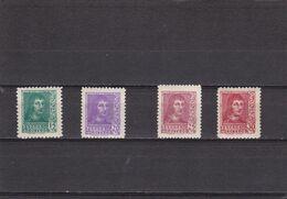 España Nº 841 Al 844 - 1931-50 Neufs