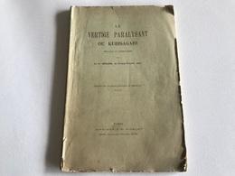 Le VERTIGE PARALYSANT Ou KUBISAGARI - 1899 - Dr GERLIER FERNEY VOLTAIRE (AIN) - Health