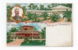 !!! PRIX FIXE : CAMEROUN, ENTIER POSTAL ILLUSTRE TYPE GRUSS NON VOYAGE - Colonie: Cameroun