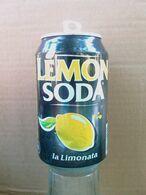 Lattina Italia - Lemon Soda  1 - 33 Cl. -  ( Lattine-Cannettes-Cans-Dosen-Latas ) - Dosen