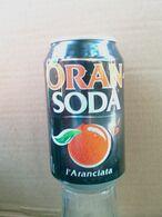 Lattina Italia - Oran Soda - 33 Cl. -  ( Lattine-Cannettes-Cans-Dosen-Latas ) - Dosen