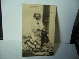 59. CASABLANCA MAROC UNE MAROCAINE MODERNISÉE CPA 1927 P. MADELAINE EDIT CASABLANCA M TROMPETTE PHOTO - Casablanca