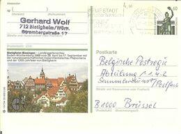 """CP De Bietigheim-Bissingen """" Landesgartenschau """" POSKARTE - Bietigheim-Bissingen"""