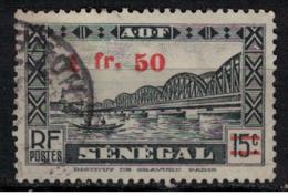 SENEGAL          N°  YVERT :   191  ( 1 )     OBLITERE       ( OB   9 / 01 ) - Gebraucht