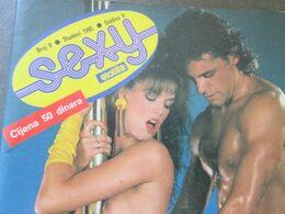 "EROTIC MAGAZINE ""SEXY"" 1990 No.8  YUGOSLAVIAN EDITION - Books, Magazines, Comics"
