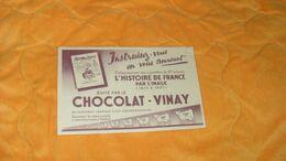 BUVARD ANCIEN DATE ?...CHOCOLAT VINAY.. - Cocoa & Chocolat