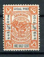 SHANGHAI CHINE  - POST LOCAL - N° Yt 101 (*) - China