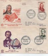 1958   FDC   CELEBRITES   N° YVERT ET TELLIER    1146/9 - 1950-1959