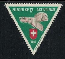 Suisse /Schweiz/Switzerland // Vignette Militaire // Flieger/Aviation, FL. Kompanie 17 - Viñetas