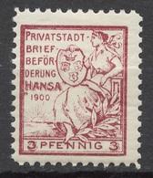 Privat-Stadt-Post Konigsberg 6 * - Private