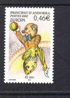 CEPT Zirkus Andorra RF 590  Postfrisch MNH ** - Europa-CEPT