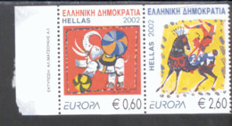 CEPT Zirkus Griechenland 2110 - 2111 C Postfrisch MNH ** - Europa-CEPT