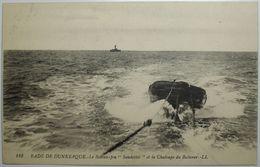 """DUNKERQUE Le Bateau-feu """"Sandettié"""" Et La Chaloupe Du Baliseur - Dunkerque"""