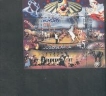 CEPT Zirkus Jugoslawien Block 53 Postfrisch MNH ** - Europa-CEPT