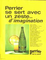 """PUB  """" PERRIER """"    1971  ( 8 ) - Perrier"""