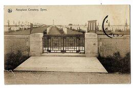 YPRES . Belgique . Aeroplane Cemetery 1930 - Otros