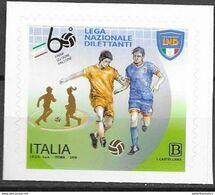 ITALY, 2019, MNH, SPORTS, FOOTBALL, SOCCER, AMATEUR FOOTBALL LEAGUE,   1v - Otros