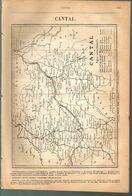 ANNUAIRE - 15 - Département Cantal - Année 1889 - édition Didot-Bottin - 12 Pages - Telephone Directories